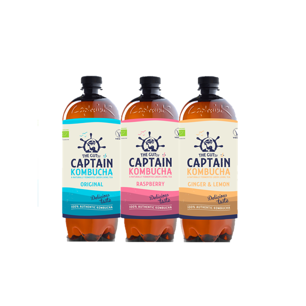 THE GUTSY CAPTAIN KOMBUCHA 1L