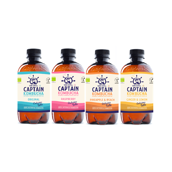 THE GUTSY CAPTAIN KOMBUCHA 400ML